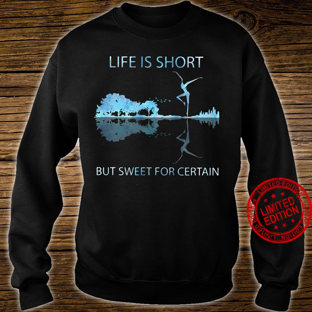Guitar life is short but sweet for certain shirt sweater