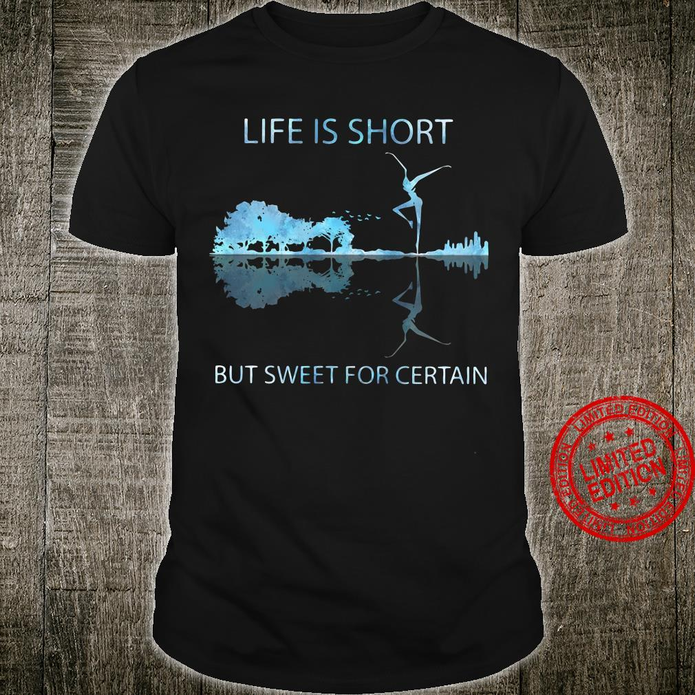 Guitar life is short but sweet for certain shirt