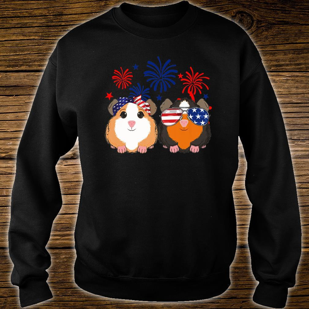Happy Independence Day 4th of july GUINEA PIG cute Shirt sweater
