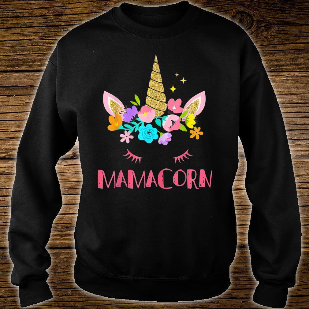 Mamacorn Unicorn Costume Mom Mother's Day Shirt sweater