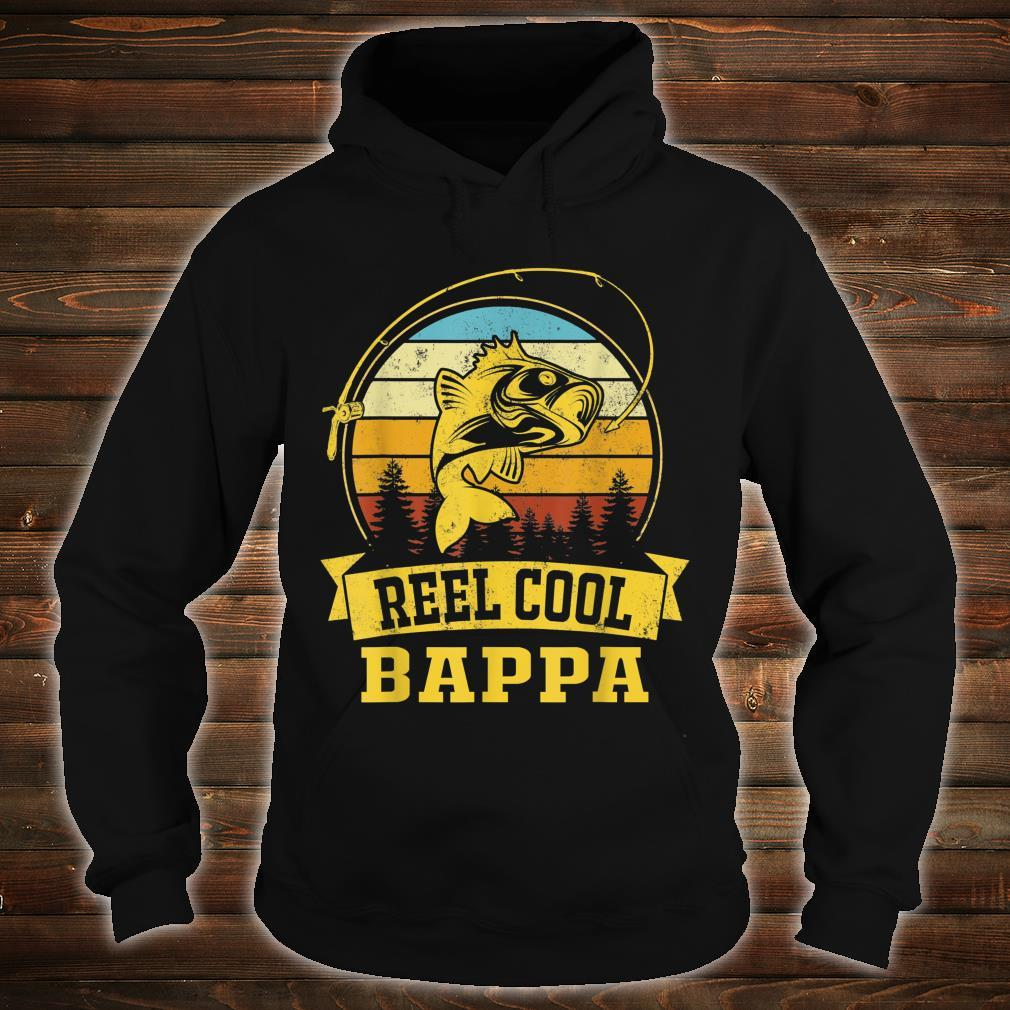 Mens Father Day Vintage Fishing Reel Cool Bappa Shirt hoodie