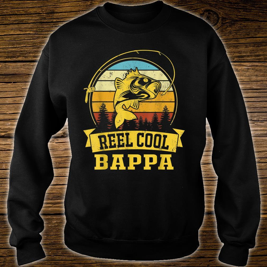 Mens Father Day Vintage Fishing Reel Cool Bappa Shirt sweater