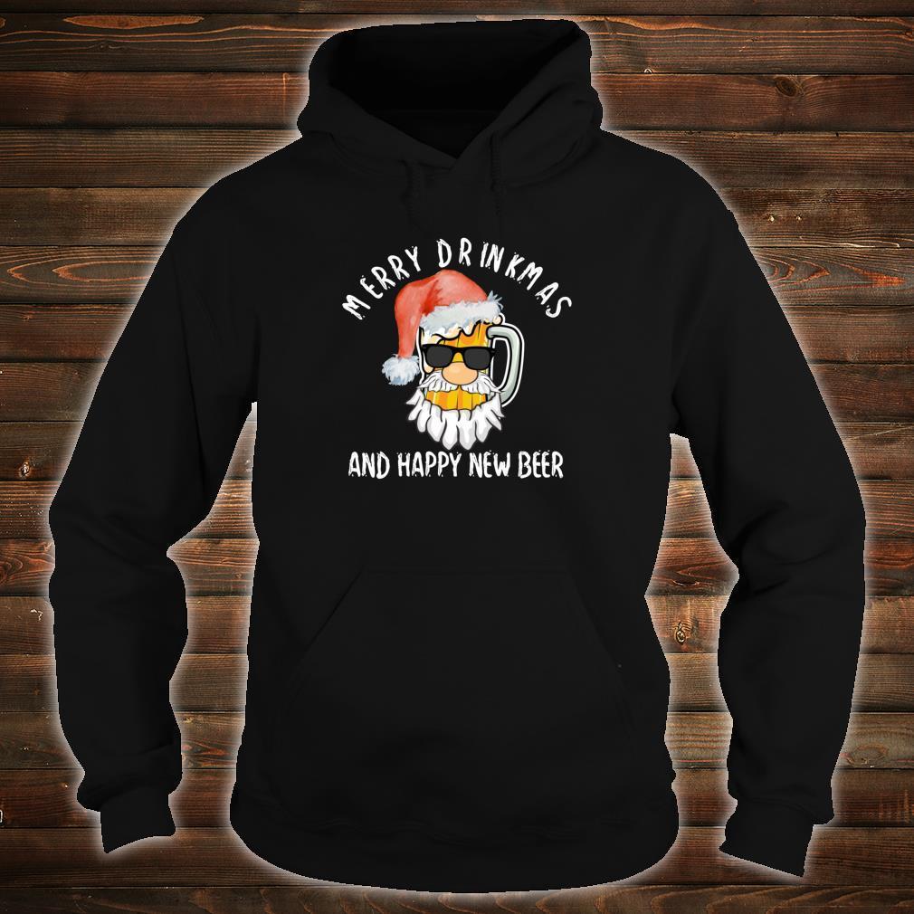 Merry Drinkmas Shirt Beer Alcohol Quote Christmas Shirt hoodie