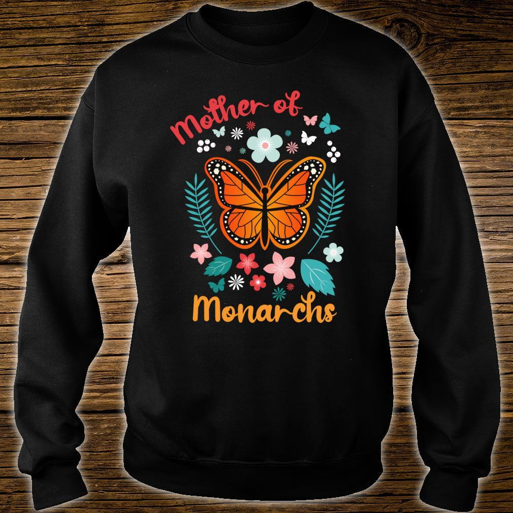Mother's Day Queen Moms Mother of Monarchs Powerful Shirt sweater