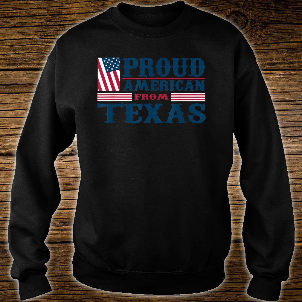 Patriot Day USA from Texas Proud American Shirt sweater