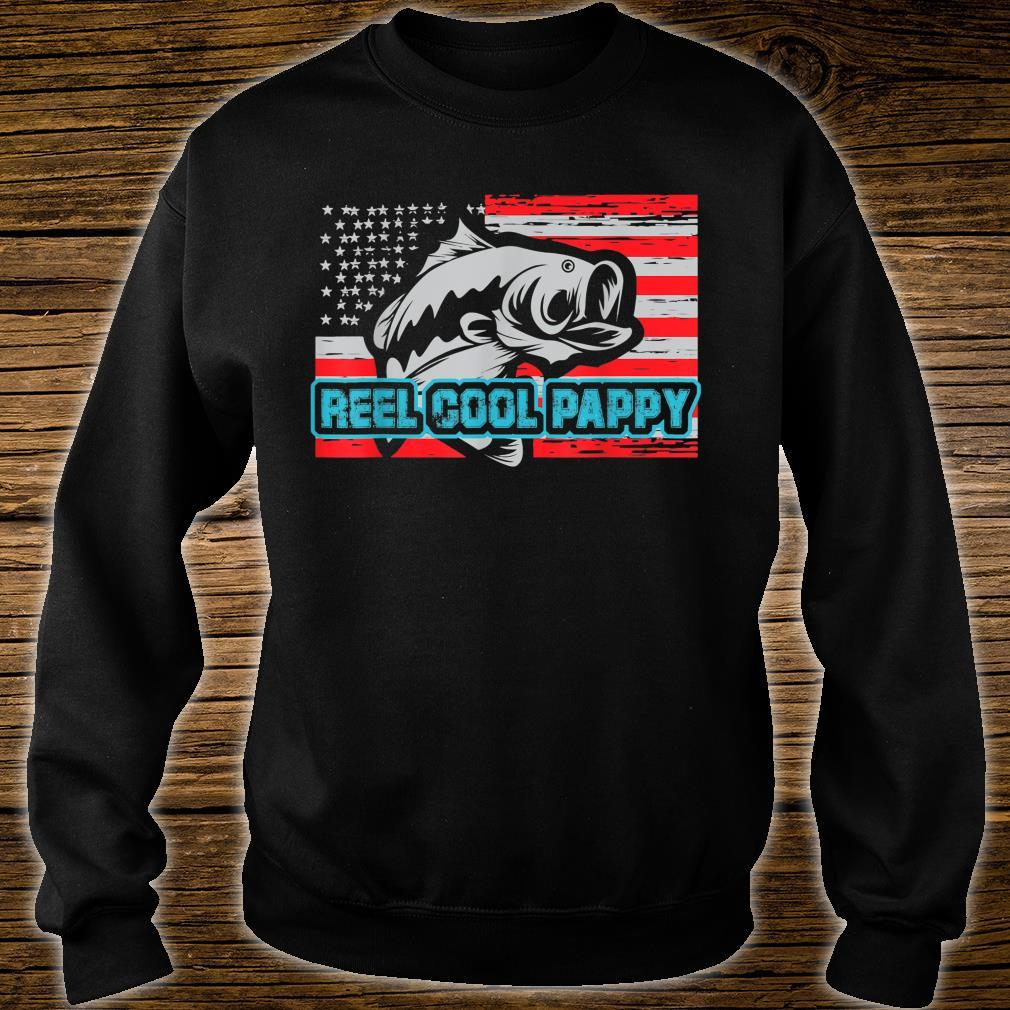 Reel Cool Pappy Shirt USA Flag Fishing For Father Day Shirt sweater