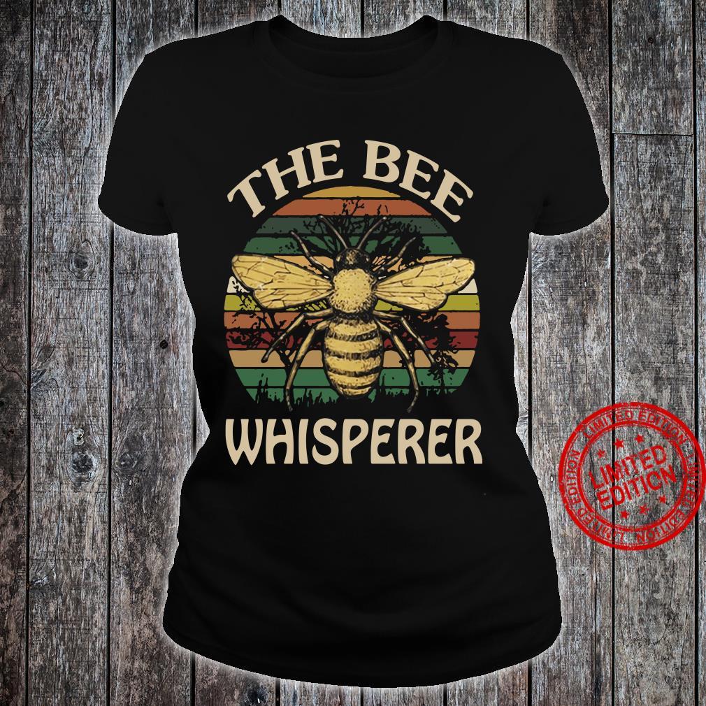 The Bee Whisperer shirt ladies tee